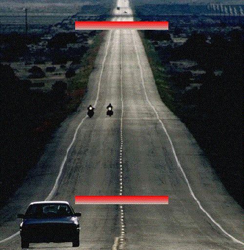 Curta este post se você viu as linhas vermelhas do mesmo tamanho.