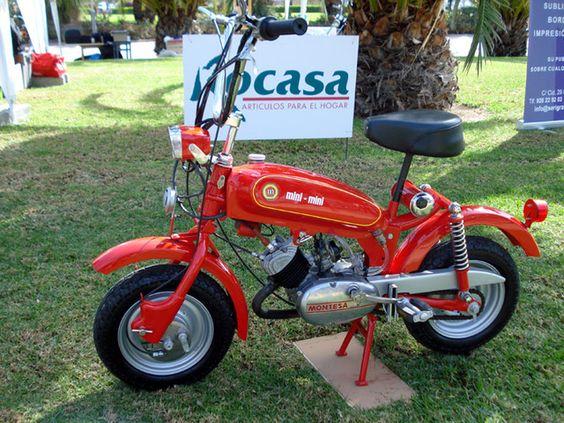 Montesa mini moto