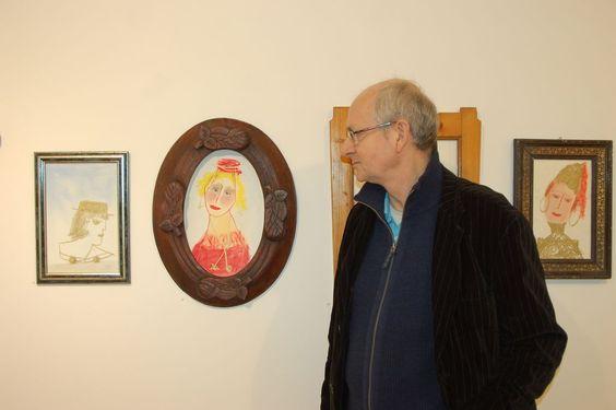 Damenporträts für Fantasiebegabte - Paschinger Galerie in der Schmiede zeigt Werke von Franz Blaas anlässlich dessen 60. Geburtstags. Mehr dazu hier: http://www.nachrichten.at/nachrichten/kultur/Damenportraets-fuer-Fantasiebegabte;art16,1608518 (Bild: hw)