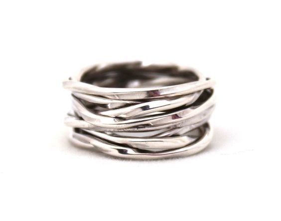 The perfect gift {for yourself}! Sterling Silver Nest Sterling Silver Ring $52 SwellCaroline.com