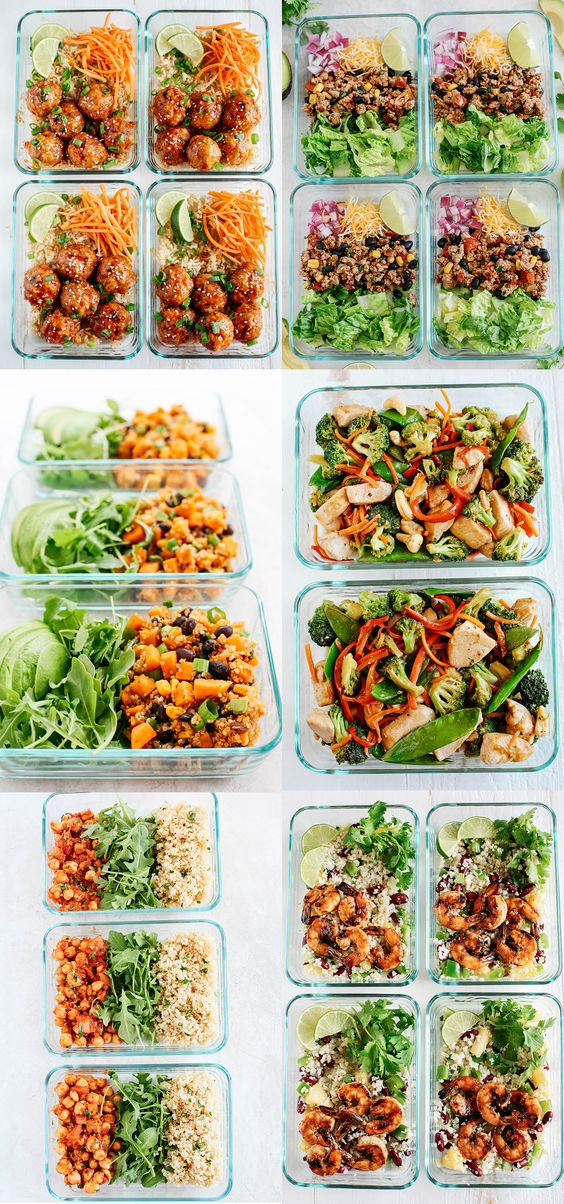 10 Easy Meal Prep Recipes - Eat Yourself Skinny