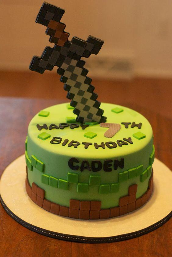 Minecraft Cakes: