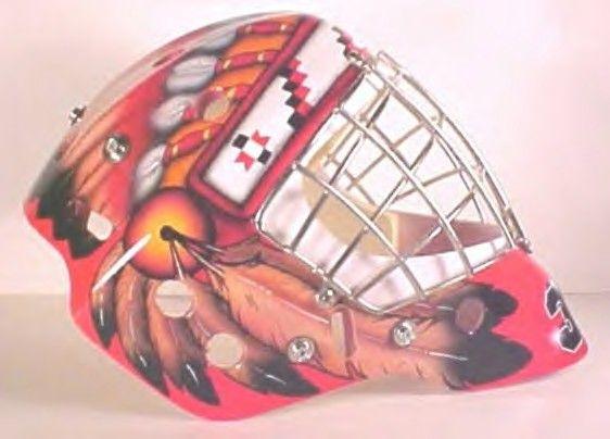 Custom Airbrush Your Goalie Helmet Etsy In 2020 Custom Airbrushing Goalie Mask Goalie