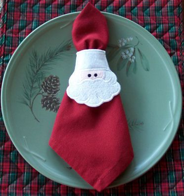 Napkin Rings Napkins And Machine Embroidery Designs On
