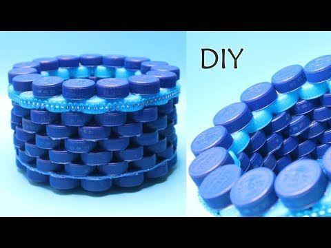 Ide Kreatif Tutup Botol Bekas Botol Plastik Aqua How To Make