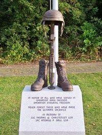 Afghanistan-Iraq War Memorial, Brighton, MI