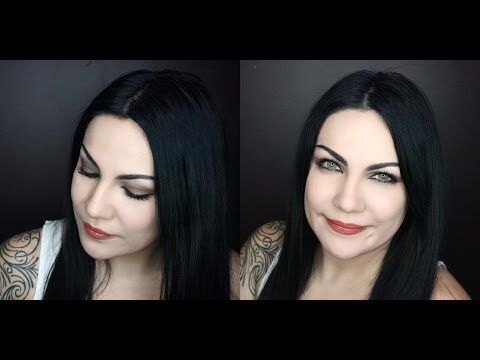 Amy Lee Bring Me To Life Makeup Tutorial Youtube