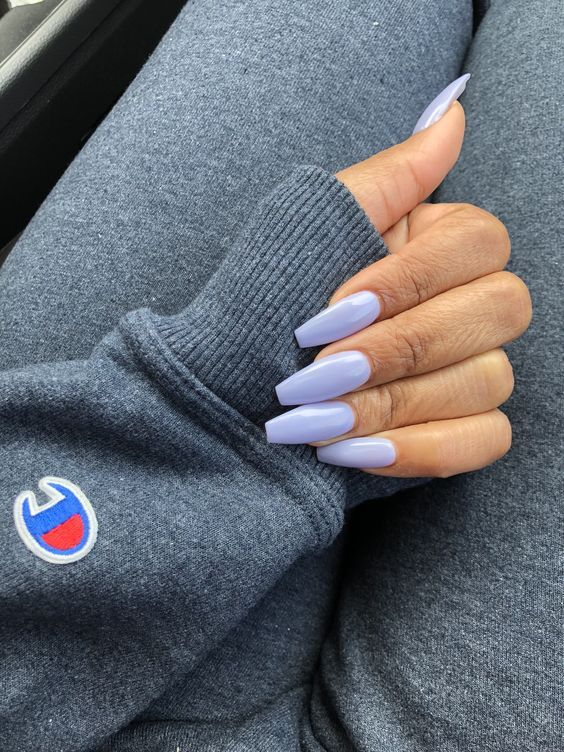 Have A Look At Our Coffin Acrylic Nail Ideas With Different Colors Trendy Coffin Nails Acrylic Na Cute Acrylic Nails Ballerina Style Nails Short Coffin Nails