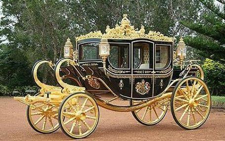 WEB LUXO - Carros de luxo: Uma nova carruagem para a Família Real Britânica