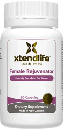 Female Rejuvenator. Supports natural hormone imbalance. Helps reduce PMS and menopausal symptoms.