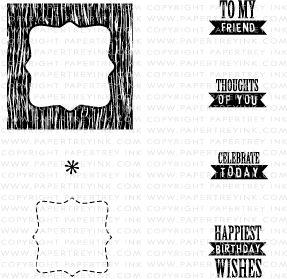 Framed Out #6 Mini Stamp Set