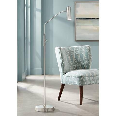 Possini Euro Harvard French Bronze Led Task Floor Lamp 9p812 Lamps Plus Lamp Floor Lamp Diy Floor Lamp