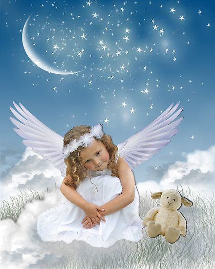 Baby Guardian Angel Quotes: Angels Heavens Little Angel
