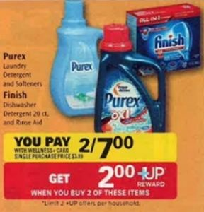 Print NOW! Finish Dishwasher Tablets only $1.50 at Rite Aid after Sale, Coupon and +Up Reward (starting 9/14!)