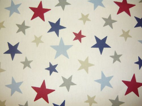 Details about MARSONS FUNKY STARS CURTAIN FABRIC MATERIAL BLINDS ...