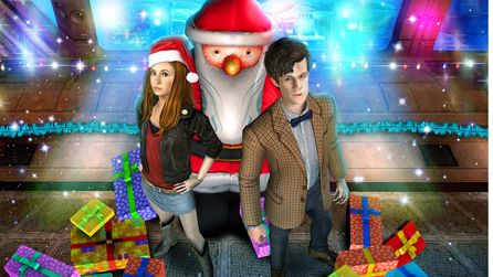 Merry Christmas Amy and the Doctor