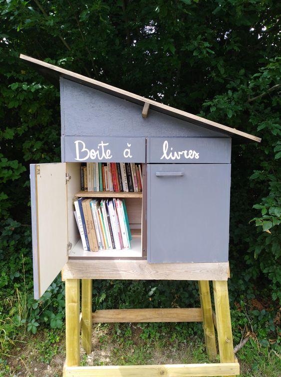 boîte à livres Mont-Godinne