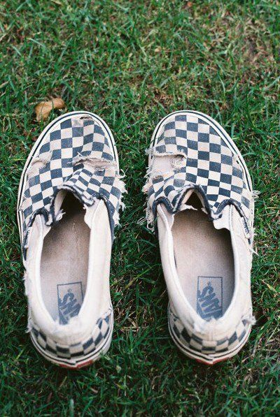 the classic checkerboard slip-on