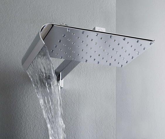 wall mounted rain shower head viceversa tender 1 Best Rain Shower Heads for Modern Eco Friendly Bathrooms