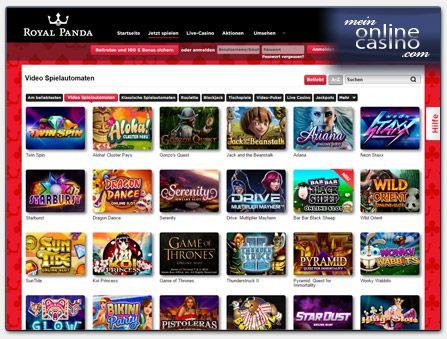Neue Online Casino Empfehlung auf MeinOnlineCasino.com - Royal Panda. Das NetEnt Casino überzeugt durch seinen herausragenden Kunden-Service und schnelle Gewinnauszahlungen. Zudem profitieren Neukunden von 100€ Startguthaben + 10 Freispielen.  http://www.meinonlinecasino.com/casino-testberichte/royal-panda-casino-testbericht/