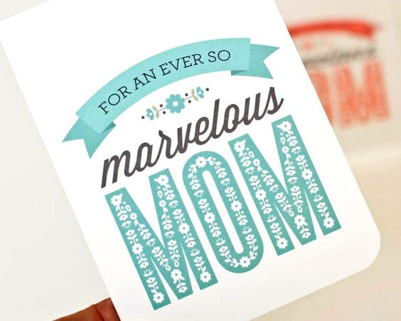Mother's Day Card // Personalized Card for by PearentheticalPress, $4.00