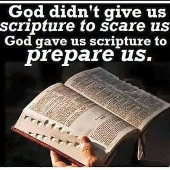 2 Timothy 3:16..All Scripture  is given by inspiration of God and is profitable for doctrine for reproof  for correction for instruction in righteousness;  that the man of God may be complete throughly equipped for every good work. 2 Peter 1:20-21..knowing this first that no prophecy of Scripture is of any private interpretation  for prophecy never came by the will of man but holy men of God spoke as they were moved by the Holy Spirit. Romans 15:4 by royalqueen_7
