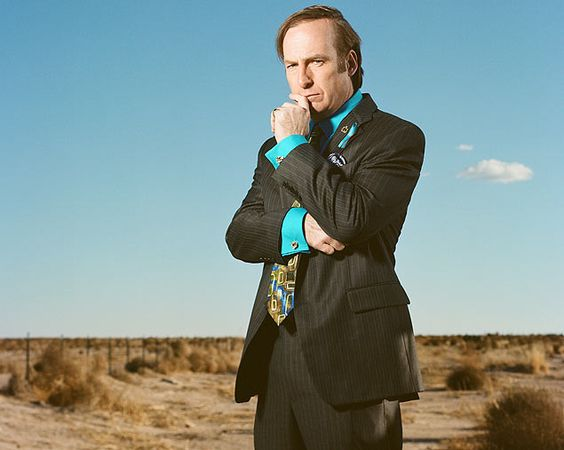 O advogado, Saul Goodman, (Bob Odenkirk), na série 'Breaking Bad, Better Call Saul: