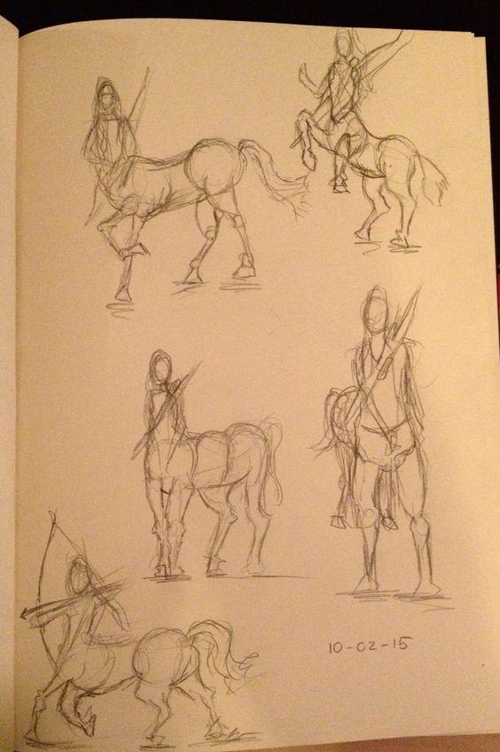Oefening centaurs