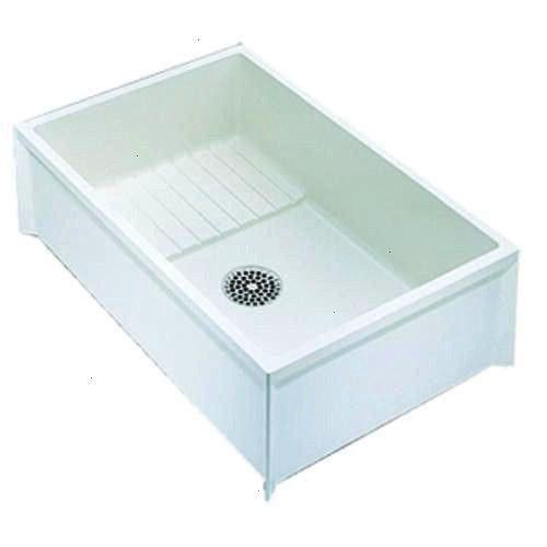 Rectangular Commercial Composite Ms2436010 Swanstone Standard American 24x36x10 Dropdown Bathroom Laundry Z199636 Menards Station Floor Sink Dog Tub Mop Sink