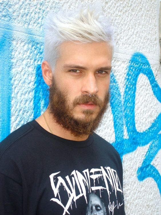 cabelo masculino platinado mateus verdelho - Pesquisa Google: