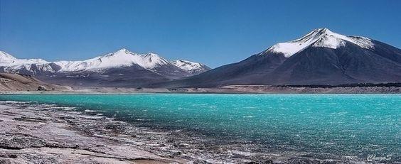 Laguna Verde en Catamarca: Conocé esta maravilla en el limite ..