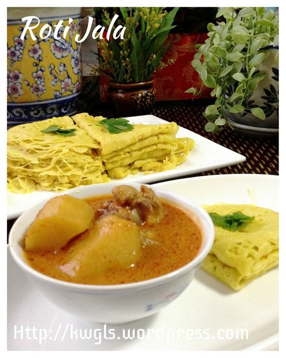 ... Curry Chicken #guaishushu #Kenneth_goh #roti_jala #lacy_pancake #