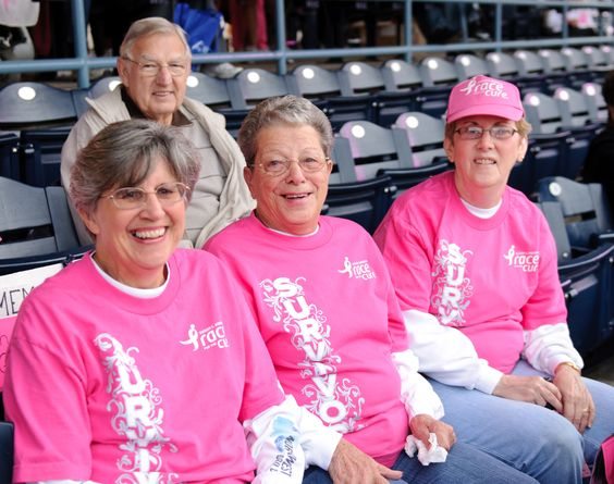 Survivors are proud see the support they receive from registrants. #race #pink #komen #cure