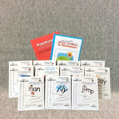 The 643 words included in this kit comprise about 90% of words that children…