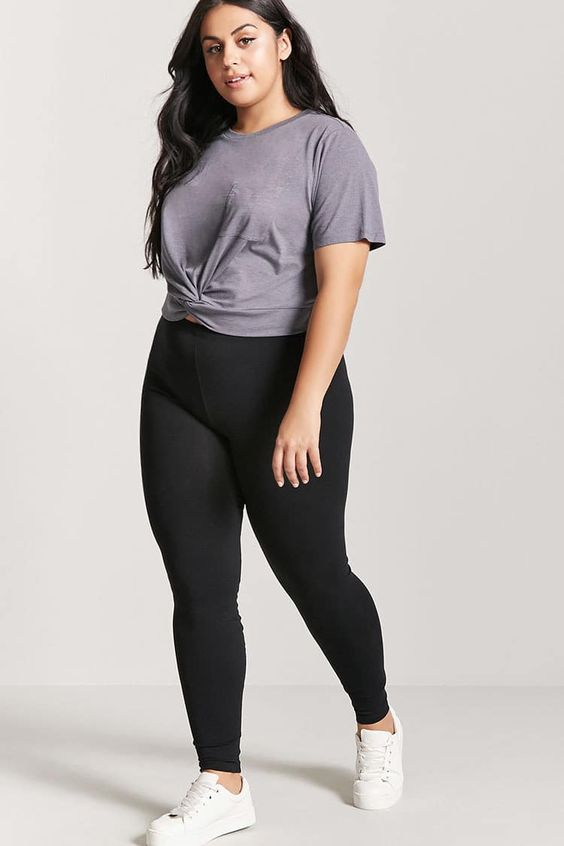 Product Name:Plus Size Leggings, Category:CLEARANCE_ZERO, Price:5.9