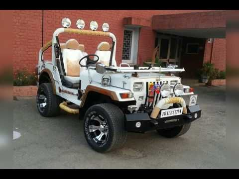 New Modified Jeep Khan Motors Moga Cont 09914876961 Calling And