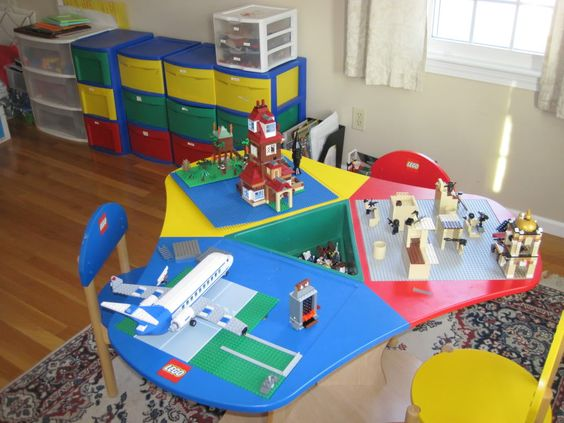 Day Care Storage Ideas And Lego On Pinterest