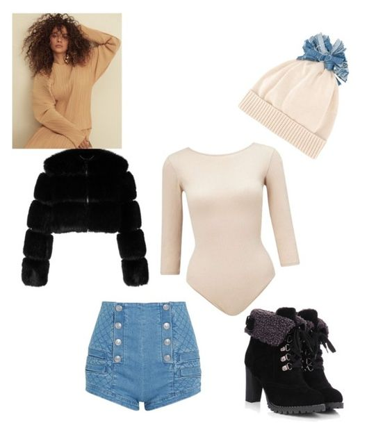 """""""Untitled #35"""" by kaylaglenn125 on Polyvore featuring Federica Moretti, Pierre Balmain, Miss Selfridge and Givenchy"""