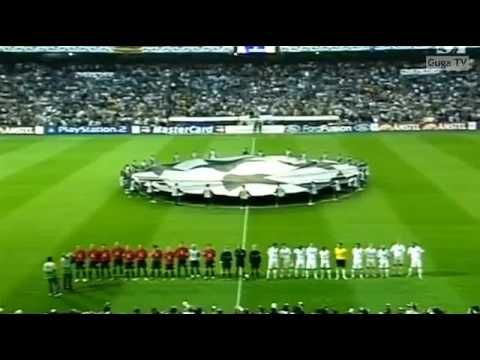 Real Madrid Vs Manchester United 1 3 2002 2003 1st Leg Youtube Real Madrid Manchester United Champions League Manchester United