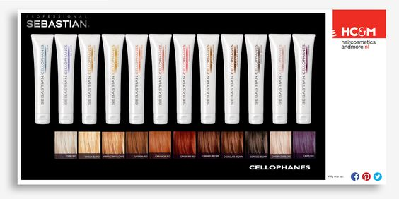 Sebastian Cellophanes Colors Chart