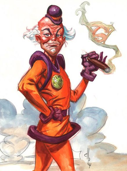 Mister Mxyzptlk is probably my favorite Superman villain.