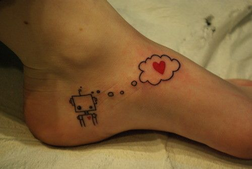 Cutie.... Maybe replace the bot w/ Hello Kitty.
