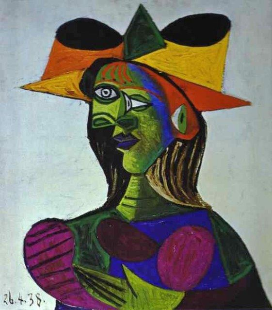 Pablo Picasso | Portrait of a Young Girl | 1938