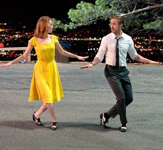 Dancing into Sunday like #EmmaStone and #RyanGosling dancing their hearts out in #LaLaLand! : Dale Robinette: