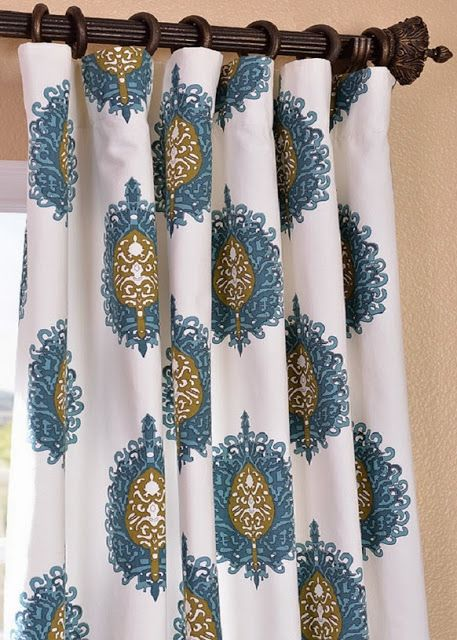 COTTAGE AND VINE: Half Priced Drapes