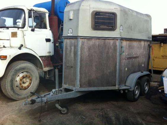 Remorque Abl Van a chevaux occasion