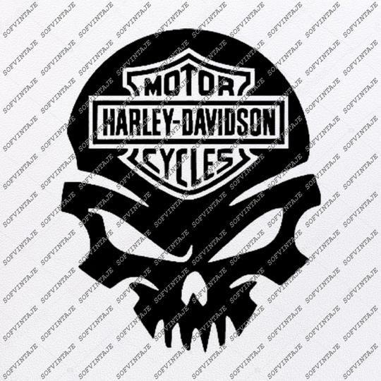 Harley Davidson Svg File Skull Svg Design Clipart Motorcycles Svg File Davidson Png Vector Graphics Svg For Cricut For Silhouette Svg Eps Pdf Dxf Pn Harley Davidson Crafts Harley Harley Davidson