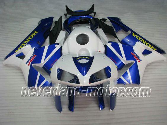 Honda CBR 600RR F5 2005-2006 ABS Verkleidung - Weiß / Blau #cbr600rrverkleidung #verkleidunghondacbr600rr