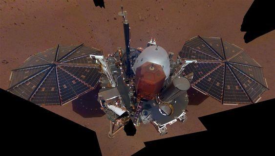 insight. La misión InSight aterriza en Marte