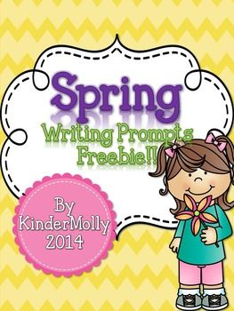 Lovely freebie featuring 6 writing pages. Each page contains a Spring themed picture for students to color, and lines to write. Students create their own sentences to describe the picture. These printables are great to cover those tough Kindergarten Common Core standards for writing! ___________________________________________________________________How to get TpT credit to use on future purchases: Head over to your My Purchases page (you may need to log-in).
